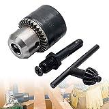 """Juego de portabrocas con llave y adaptador SDS Plus 3 piezas de 13 mm - 1/2"""" 20UNF rosca y adaptador SDS"""