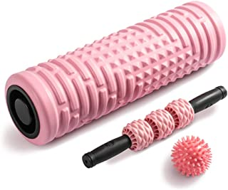 Foam Roller Massage Ball Eco-Friendly Trigger Point Set,High Density for Deep Tissue Ideal for Releasing Muscles