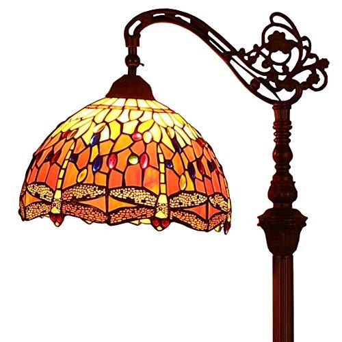 Bieye L30713 Libélula Tiffany Style - Lámpara de lectura d