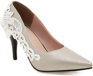 photos officielles e9f78 555ec Amazon.fr : louboutin - Argenté / Escarpins / Chaussures ...