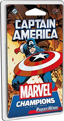 Fantasy Flight Games – Marvel Champions JCE – 04 – Capitán América (Hérros)