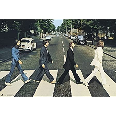"""The Beatles Abbey Road 2020 Music Album Art Cover Poster 12x12/"""" 24x24/"""" 27x27/"""""""