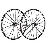 NAINAIWANG Bicicleta de Carretera Juego de Ruedas montaña 26/27.5/29 Pulgadas Fibra Carbono Aleación Aluminio Llanta...