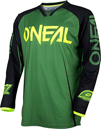 O'Neal Mayhem Lite Blocker Jersey S Giftgrün/Schwarz