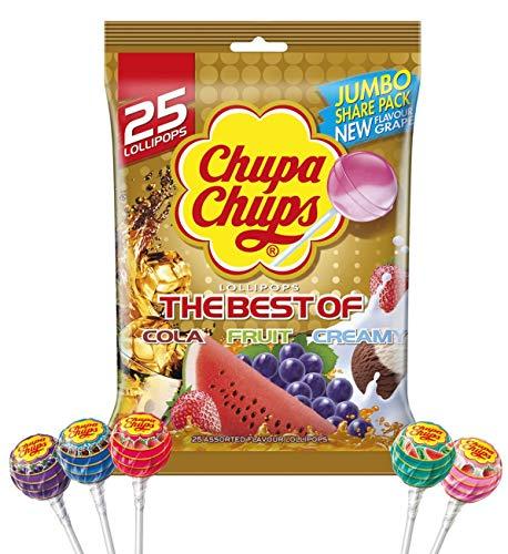 Chupa Chups Best Of Bag 25 Pack