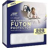 UltraBlock Futon Full Waterproof Mattress Protector - Premium Soft Cotton Terry Cover