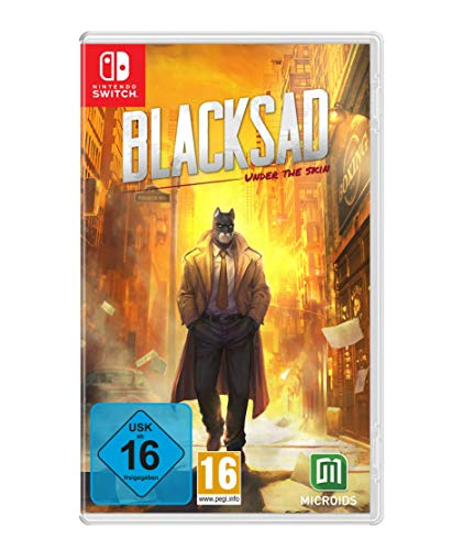 Blacksad - Under the Skin Limited-Edition - [Nintendo Switch]
