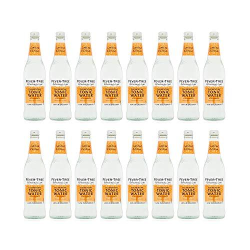 Koorts boom verfrissend licht Clementine Tonic Water 500ml glazen fles – Pack van 16