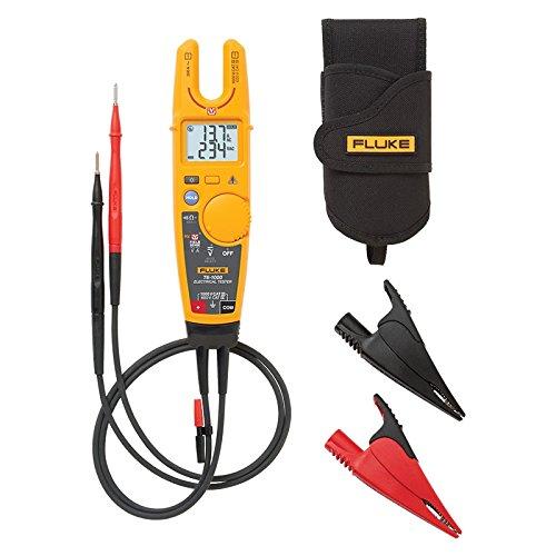 Fluke T6-1000 Fieldsense Electrical Tester, Alligator Clips & Holster