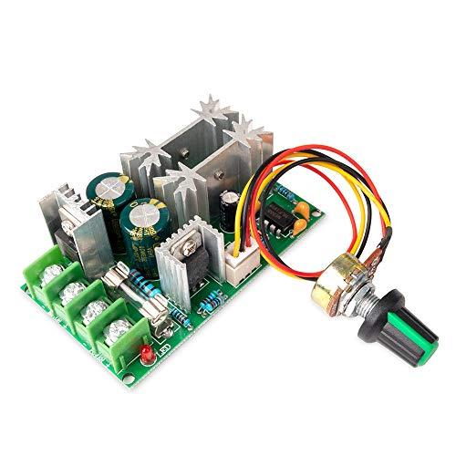 Regolatore di Velocità del Motore CC 12V 24V 36V 48V 20A Unità di Controllo Velocità Motore PWM Regolatore di Tensione Elettrica