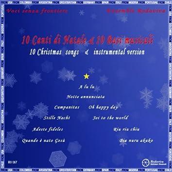 10 Canti di Natale e 10 basi musicali