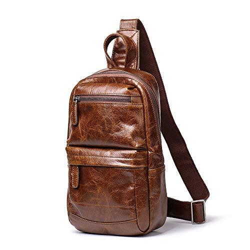 Herenmode schouder diagonaal pakket, heren-schoudertas messenger bag nonchalant minuscule rugzak