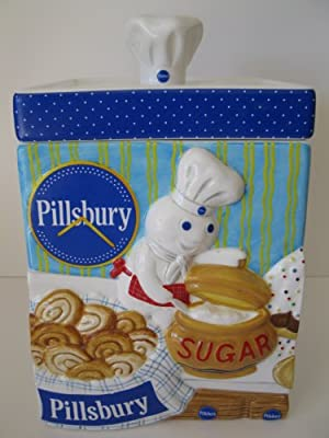 The Pillsbury Doughboy Sugar Canister from