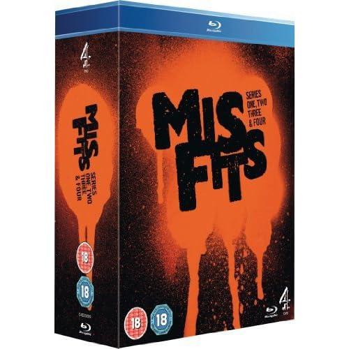 Misfits: Series 1-4 [Edizione: Regno Unito] [Edizione: Regno Unito]