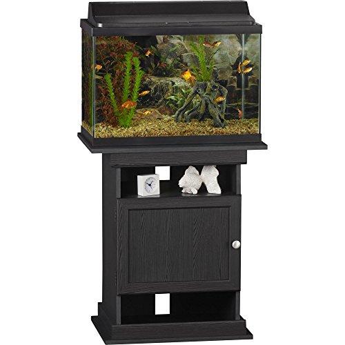 Altra Furniture Altra Flipper 10/20 gallon Aquarium Stand, Midnight Onyx