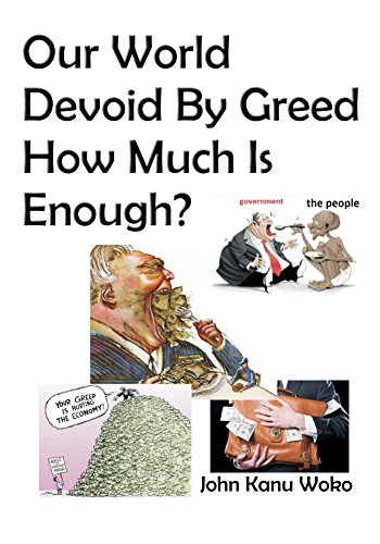 Our World Devoid By Greed (English Edition)