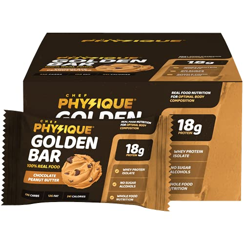 Chef Physique High Protein Bars – Healthy Whole Food...