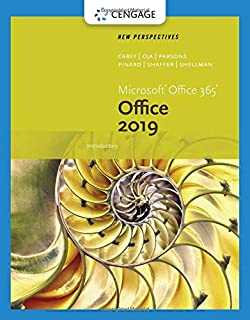 New Perspectives Microsoft Office 365 & Office 2019 Introductory (MindTap Course List)