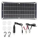Tablero de carga del panel solar Cargador solar portátil para viajes, escalada, camping, uso 501g/17,7 oz
