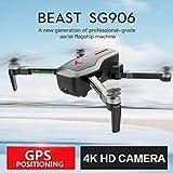 WOSOSYEYO SG906 GPS 5G WiFi FPV avec Le Drone Quadcopter RTF de caméra Ultra HD 4K Pliable de Selfie VS XS809S XS809HW...