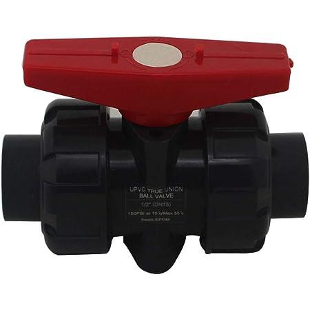 Suinga VALVULA DE BOLA ENCOLAR 20MM para pegar PVC Utilizado en tuber/ías de polietileno y PVC de 20mm 1//2. Presi/ón m/áxima 10 bar Fabricada en Espa/ña
