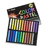 ArtBeek 24 Colors Non Toxic Long Soft Pastels...