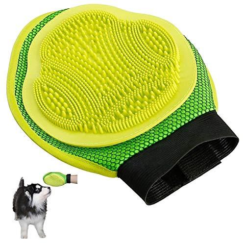 YUNGYE Hundehandschuh Zum Kämmen Von Haaren Bürste Entfernen Pflege Reinigung Massagebad Große Hundebürste Kamm Haustier Katze Hundezubehör (Color, Size : L)