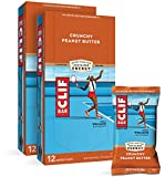 CLIF BARS - Energy Bars - Crunchy Peanut Butter - Made with Organic Oats - Plant...