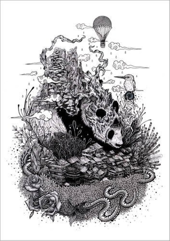 diseño único Posterlounge Cuadro Cuadro Cuadro de Aluminio 60 x 80 cm  Land of The Sleeping Giant (Ink) de Mat Miller  barato y de moda