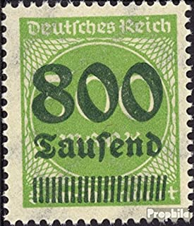 German Empire 307 Tested 1923 Hyperinflation (Stamps for Collectors)