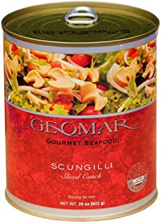 Chilean Scungilli Sliced Conch - 29 oz Cans (Pack of 12)