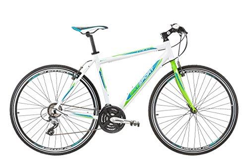 Bikesport Bicicleta Híbrida Tempo Race 28 Pulgadas Aluminio Bike Shimano 21 velocidades (58 cm/L /)