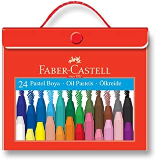 Faber-Castell 5281125125 Çantalı Pastel Boya, 24 Renk