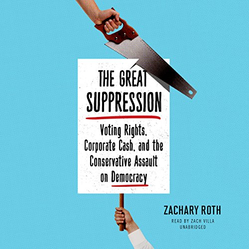 The Great Suppression audiobook cover art