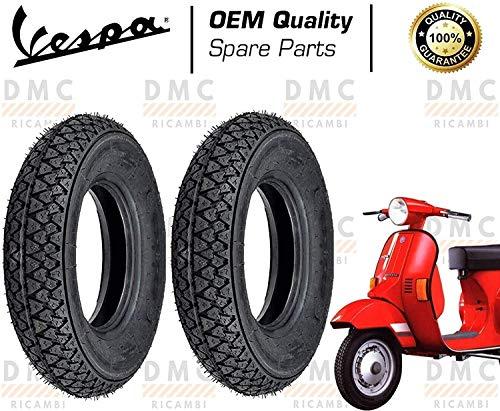 Kit de dos neumáticos para neumáticos de 3.00-10 Vespa PK 50 - PK 50 XL - Vespa PK 125 - PK 125 XL