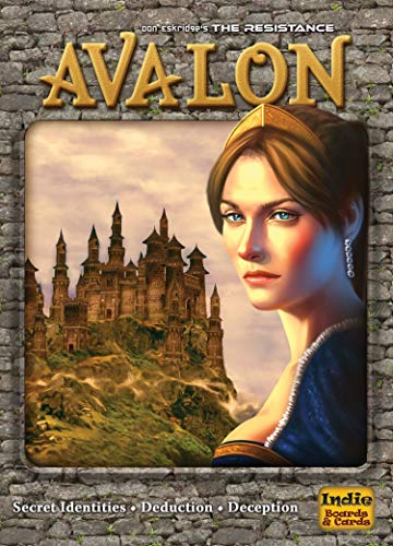 Indie Board & Card Games IBG0RE02 - The Resistance: Avalon Expansion Brettspiele
