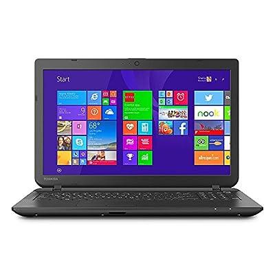 Toshiba Satellite C55-B5300 15.6-Inch Laptop (Intel Celeron Processor N2840, 4GB RAM, 500GB Hard Drive, Multiformat DVD±RW/CD-RW drive, Windows 8.1)