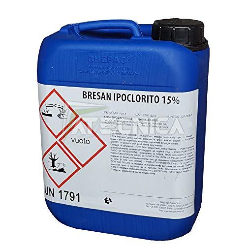Chimica D'agostino kg 25 Ipoclorito di Sodio 14/15% Cloro Liquido Professionale per Piscine con Dosatron