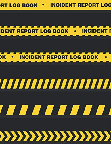 Incident Report Log Book: A Modern And Practical Book For Incident Reporting In Your Company. Health & Safety Record Accidents