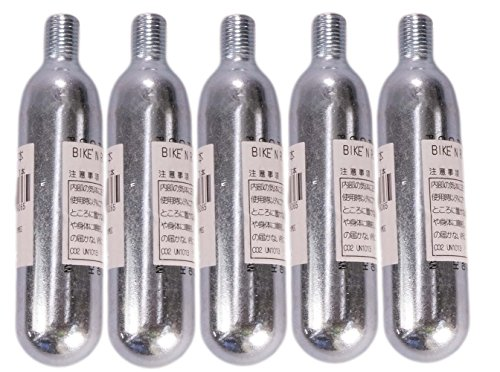 UNICO(ユニコ) BIKE'N ROLL ( バイクンロール ) 高性能 CO2カートリッジ 16g 5本セット