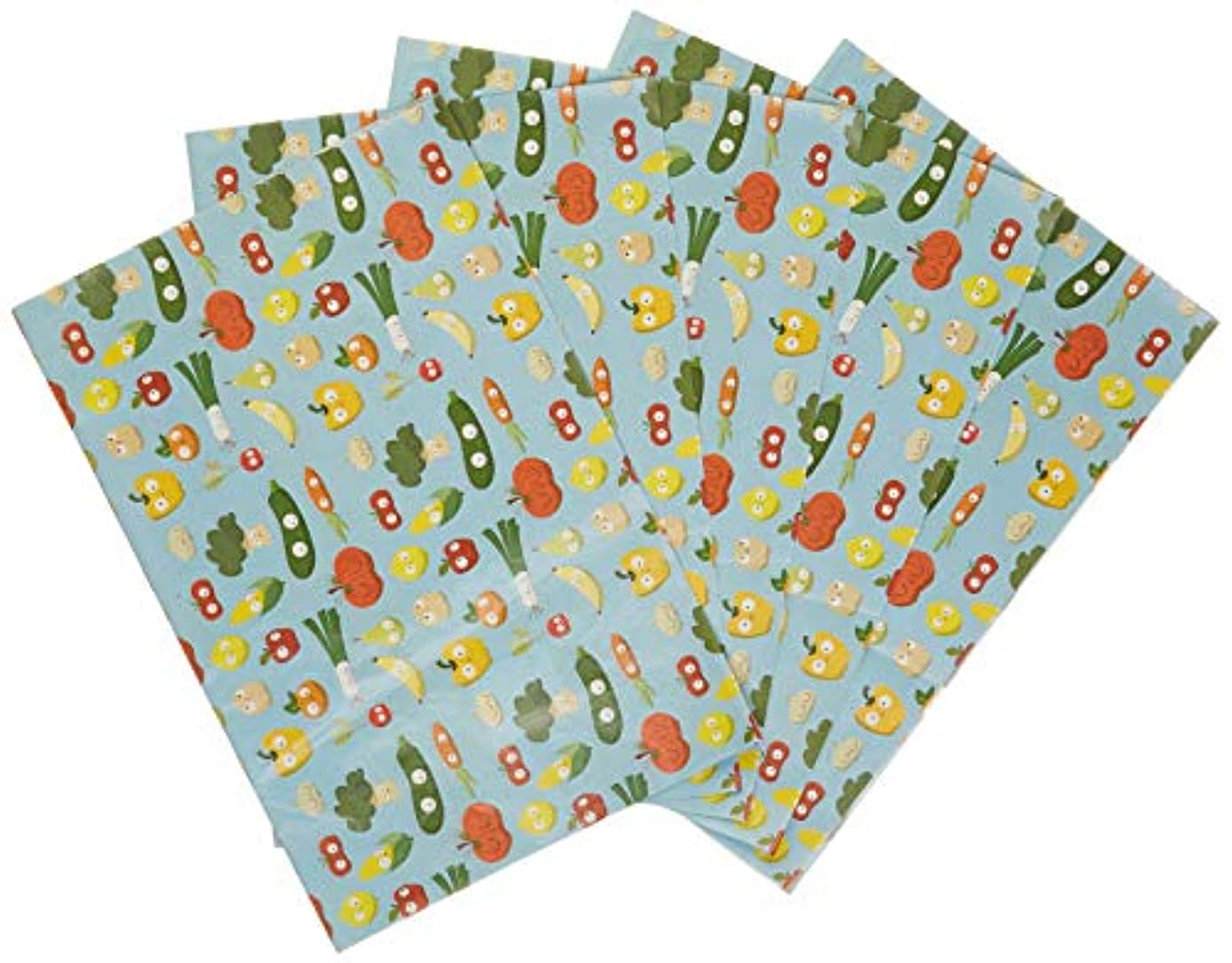 Decopatch FDA730O 395 x 298 mm Paper Number 730 Fruit and Vegetables Pack of 20 Sheets