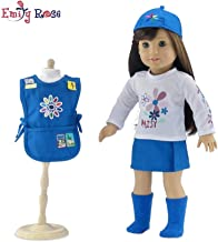 18 Inch Doll Clothes   Daisy Girl Scout-Inspired 5 Piece Outfit, Including Tunic with Embroidered Patches!   Fits American Girl Dolls   Gift Boxed!