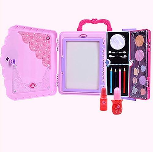 precioso AosyGFR Maquillaje Playhouse Maleta Regalo para Niños Juguete Material Material Material De Projoección Ambiental  tienda hace compras y ventas