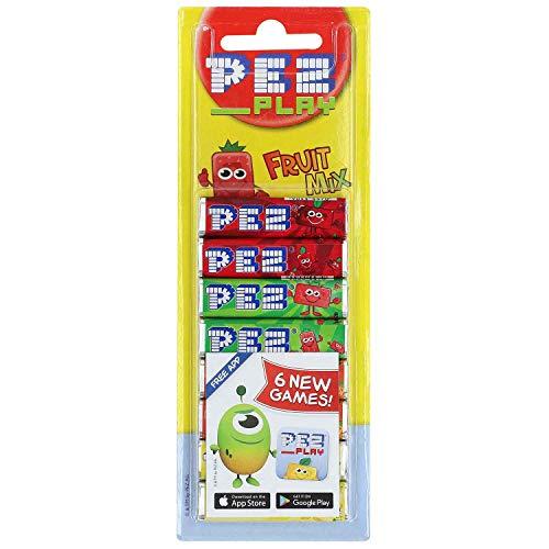 Pez Fruit Mix Stangen, 4 Sorten, 8 x 8,5 g