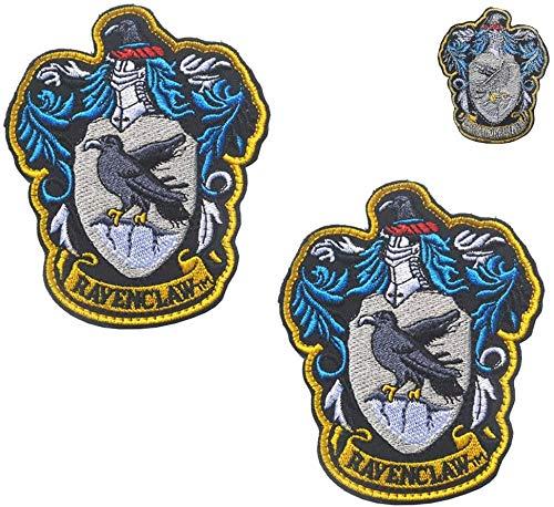 Parches bordados de Harry Potter de la casa de Ravenclaw Hogwarts a...