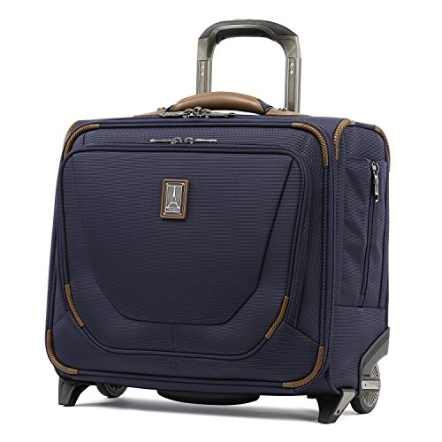 Travelpro Crew 11-Rolling Underseat Tote Carry-On Bag, Patriot Blue, 16-Inch