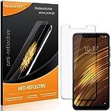 SWIDO® Protector de Pantalla para Xiaomi Poco F1 [Anti-Reflex], [2 Piezas] Antirreflectante, Mate, Anti-Arañazos, Anti-Huella Dactilar - Película Protectora