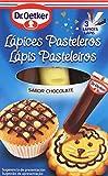 Dr. Oetker - Lápices pasteleros - Sabor chocolate - 3 x 19 g