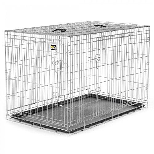 zoomundo XXL Cage Pliante en Métal avec 2 Portes pour Chien...