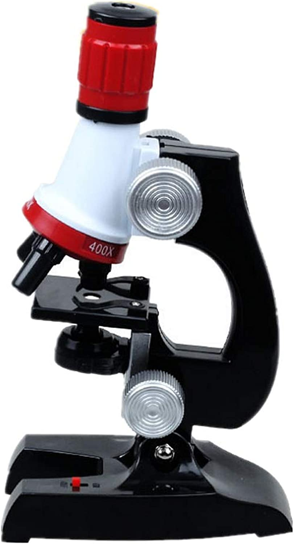 Digitales Mikroskop rot Science Kits Für Kinder Mikroskop Anfnger Mikroskop Kit LED Multi Vergrerung Kinder Wissenschaft Spielzeug Schwarz Science Kit für Kinder